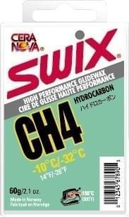 Skluzný vosk SWIX CH4 - zelený