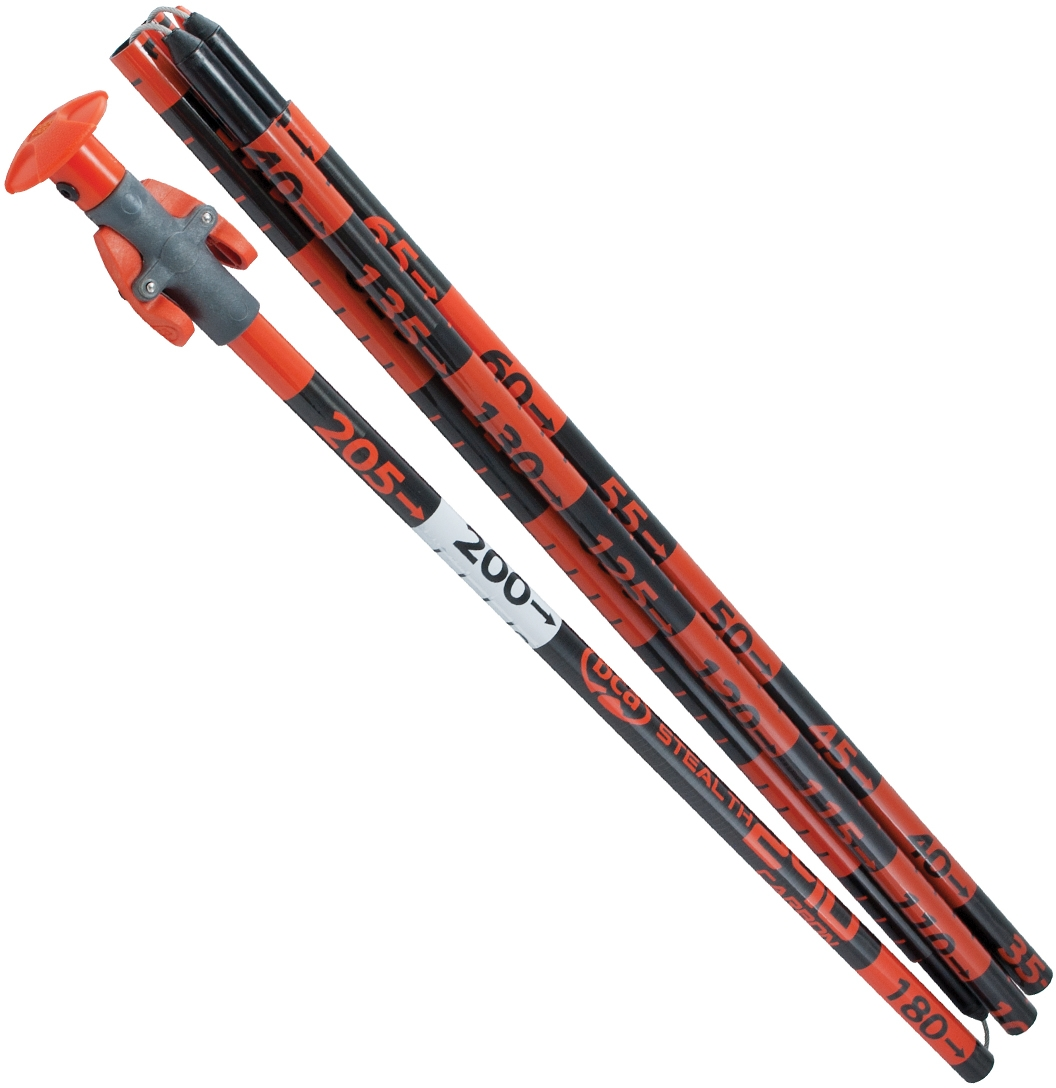 BCA Stealth 240 Carbon - orange uni