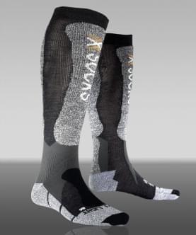 X-Socks Skiing Light XXL Cuff Men - Anthracite/Black 39-41
