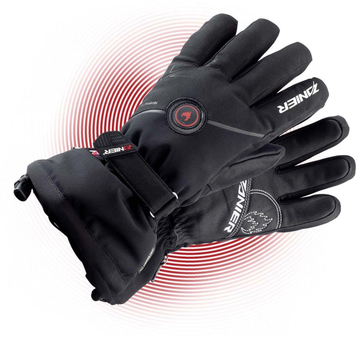 Vyhřívané rukavice Zanier Heat GTX 2.0 - black - Ski a Bike Centrum ... 05b46f2fb6