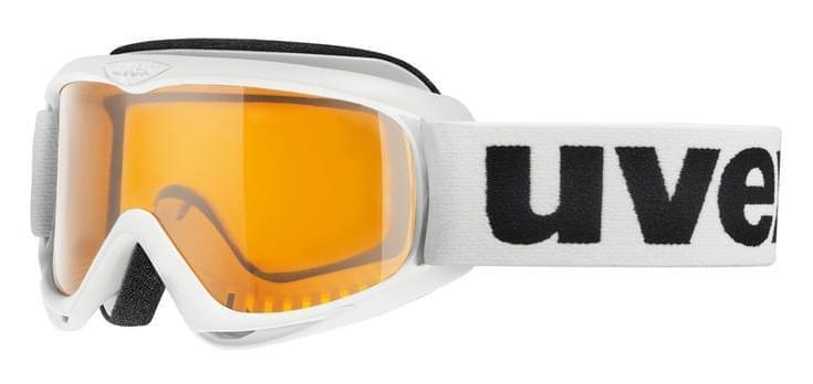 Dětské lyžařské brýle UVEX Snowcat - white uni