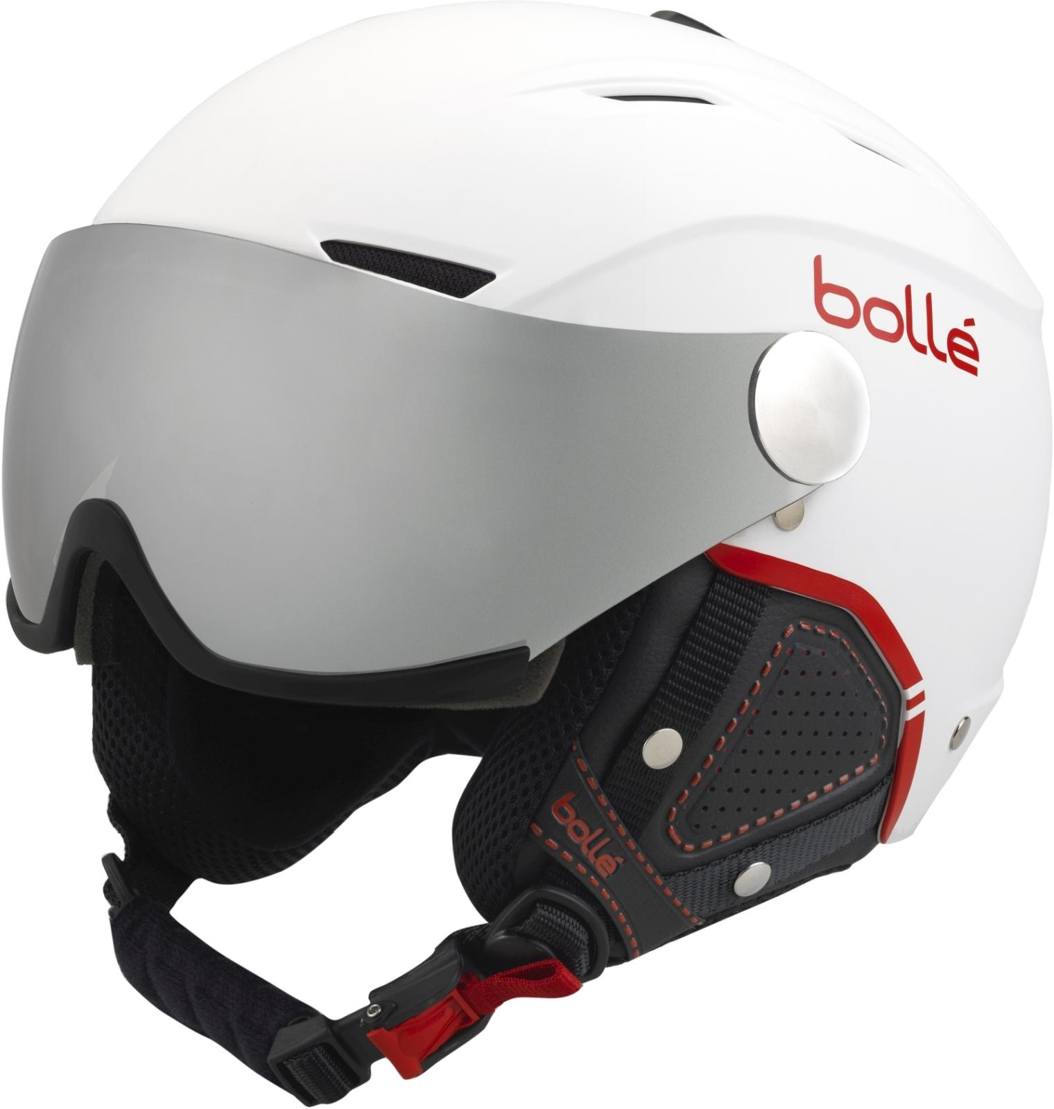 Bollé Backline Visor - soft white  amp  red silver gun + lemon ... 48cec16e212