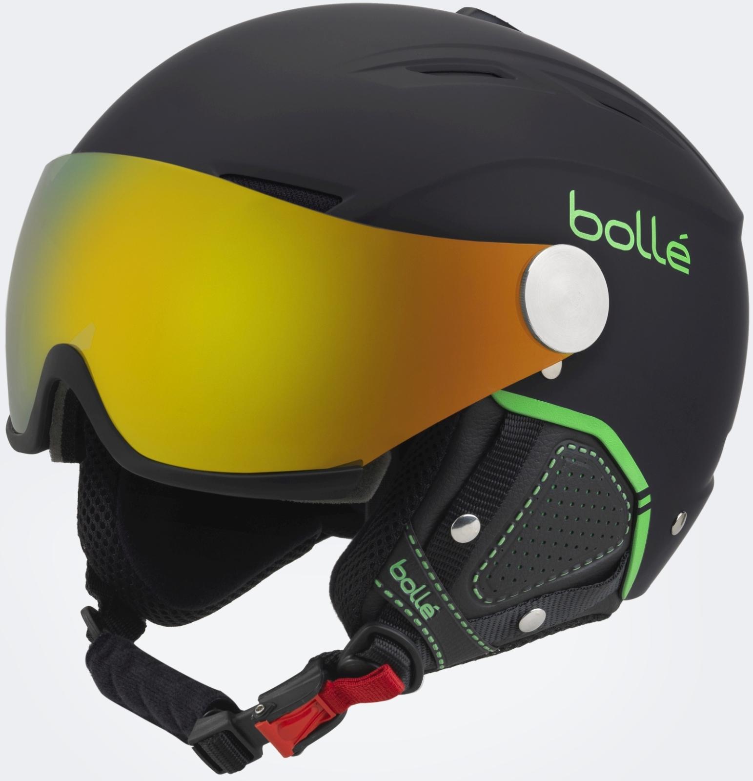 Bollé Backline Visor - soft black  amp  green fire green + lemon ... 3d946c859b7