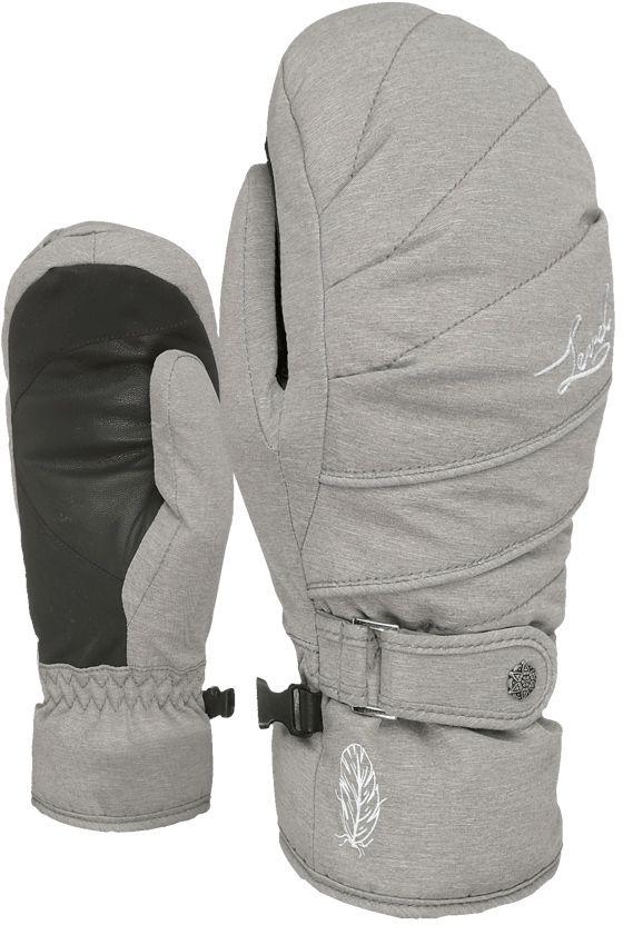 Dámské lyžařské palčáky Level Ultralite W Mitt - grey - Ski a Bike ... 0d8b1ec0c4