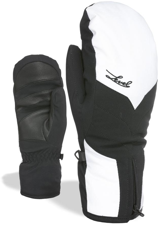 Dámské lyžařské palčáky Level Liberty W Mitt Gore-Tex - Black-White ... 0b60dd6095