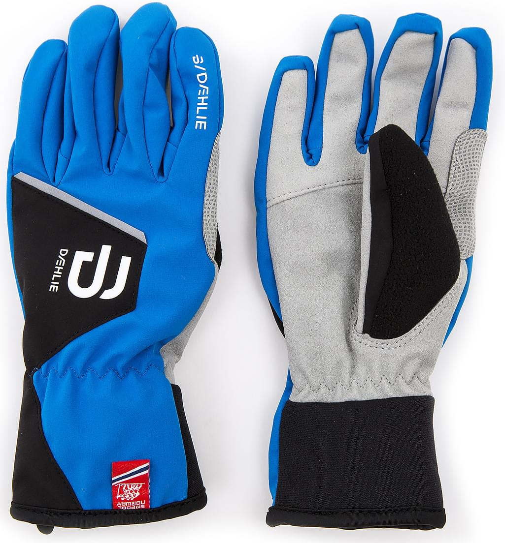 9af350d66af Dětské běžkařské rukavice Bjorn Daehlie Glove Track Jr - Electric Blue  Lemonade