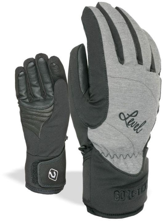 6d9625705f7 Dámské rukavice Level Force W Gore-Tex – black grey - Ski a Bike ...