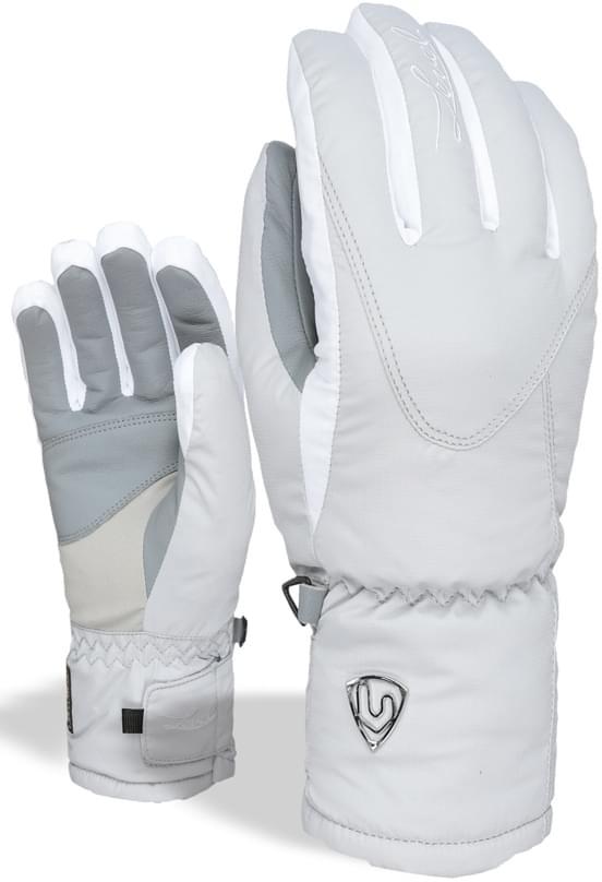 Dámské lyžařské rukavice Level Alpine W - grey - Ski a Bike Centrum ... 80b7f1c7ae