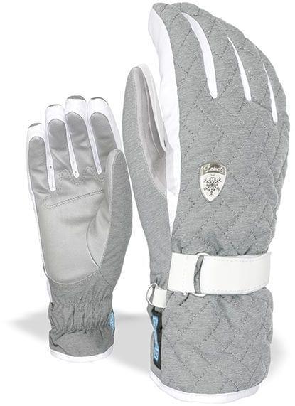 Dámské lyžařské rukavice Level Cher W - grey - Ski a Bike Centrum ... 815e076bc5