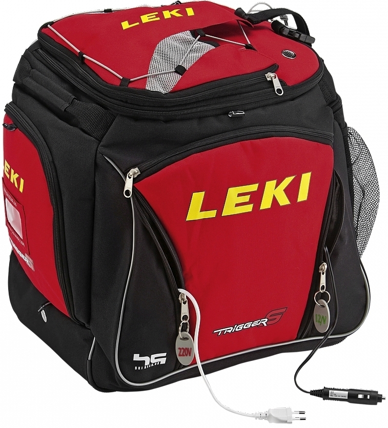 Leki Ski boot bag Hot - black/red uni