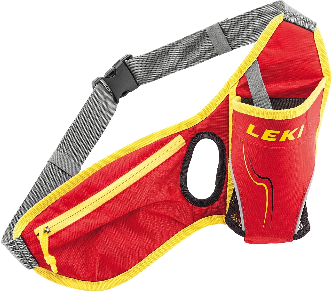 Leki Drinkbelt red-neonyellow uni