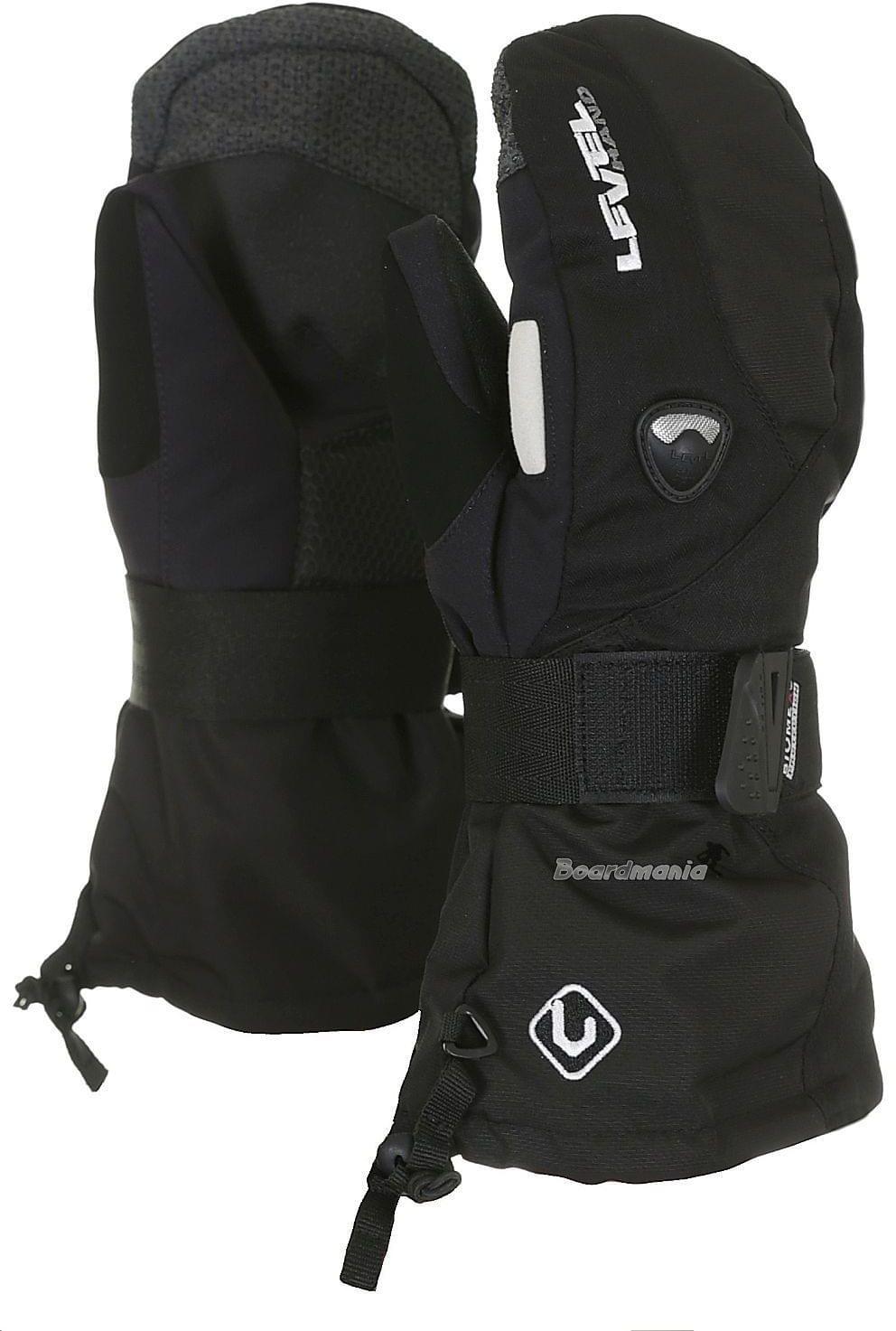 Dětské rukavice Level Fly JR Mitt – black - Ski a Bike Centrum Radotín 9b206c3834