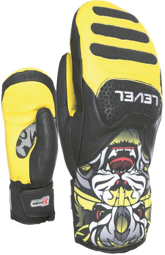 Level SQ JR CF Mitt - Yellow 6
