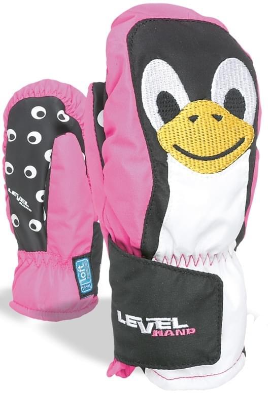 Level Animal (penguin) - fucsia 0
