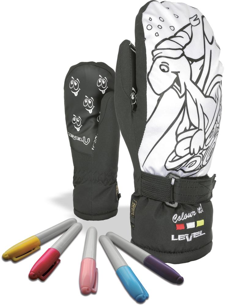 fd48ee92c30 Dětské palčáky Level Pop-Art Jr Mitt - black - Ski a Bike Centrum ...