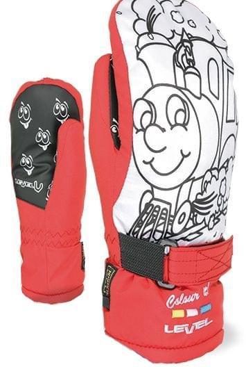 f7b0fe34309 Dětské palčáky Level Pop-Art Jr Mitt - red - Ski a Bike Centrum Radotín