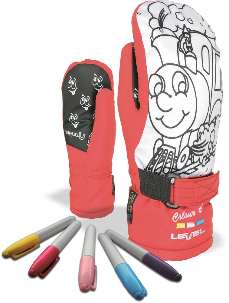d58259462a0 Dětské palčáky Level Pop-Art Jr Mitt - red - Ski a Bike Centrum Radotín