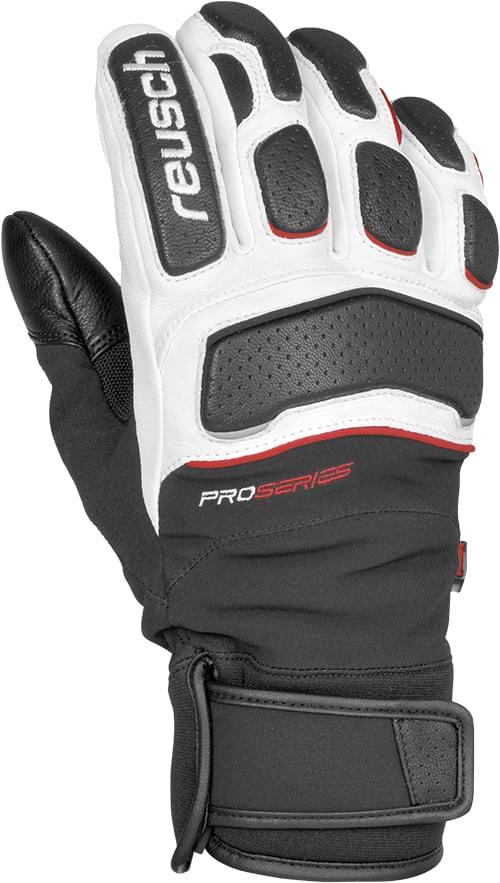 24b78239d Lyžařské rukavice Reusch Profi SL - black/red /white - Ski a Bike ...