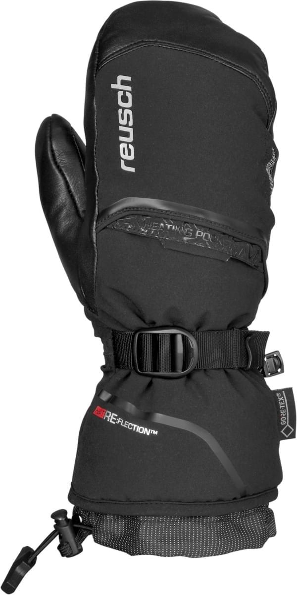 Dámské lyžařské palčáky Reusch Volcano GTX Mitten - black silver ... 4bfc49835c