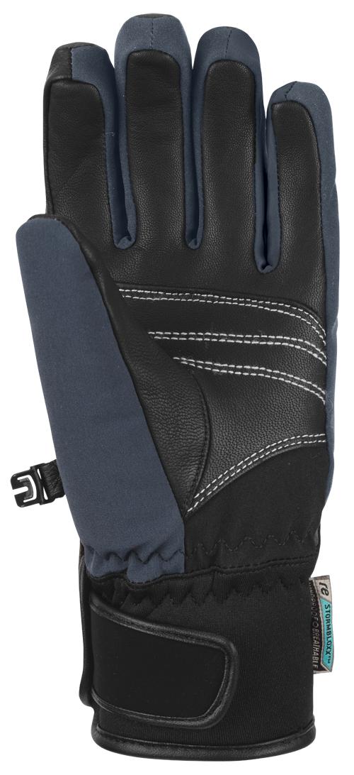 Dámské lyžařské rukavice Reusch Tomke STORMBLOXX - black gold - Ski ... f3b62e1823