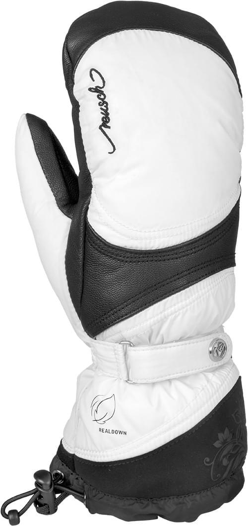 Dámské lyžařské palčáky Reusch Nora R-TEX® XT Mitten - white black ... 36639b461d