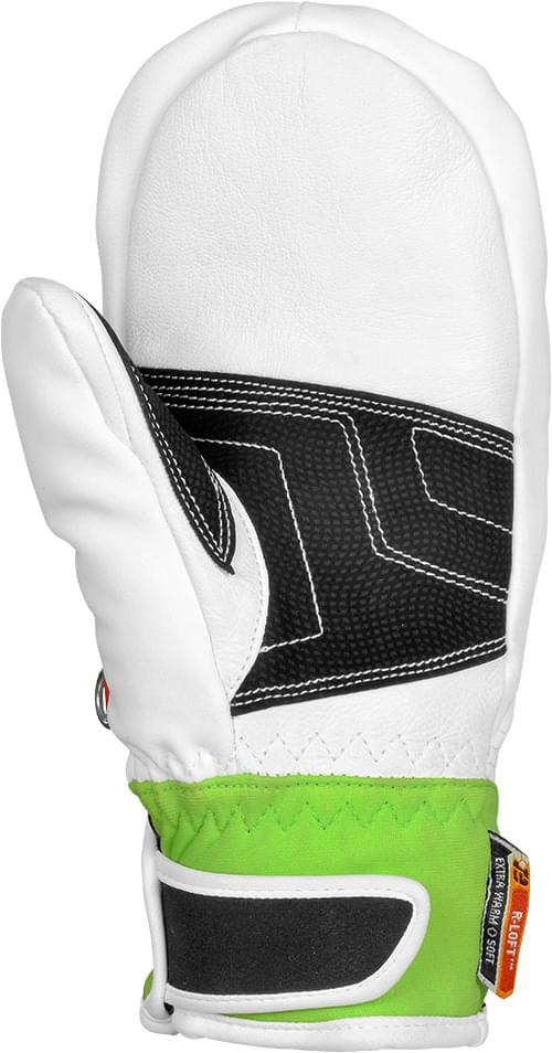 Dětské lyžařské rukavice Reusch Training R-TEX® XT Junior Mitten - white  neon 8f6be1b07a