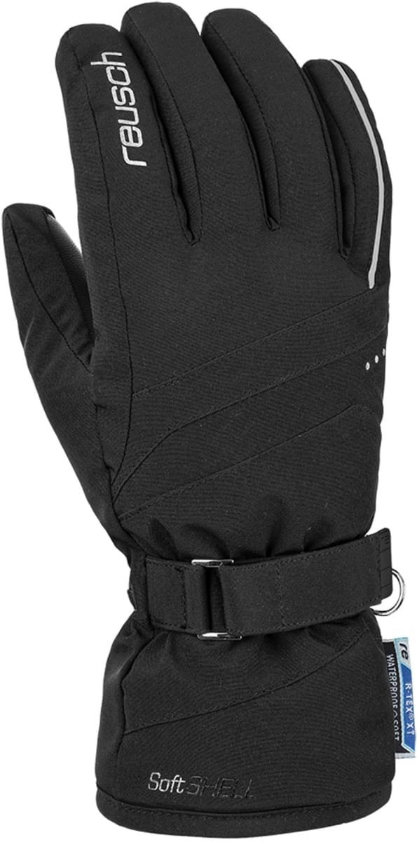 Dámské lyžařské rukavice Reusch Hannah R - TEX XT - black silver ... 8a7064f93a