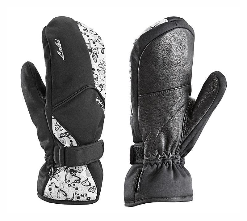 Dámské palčáky Leki Butterfly - black grey white - Ski a Bike ... 3c67f8aa6c