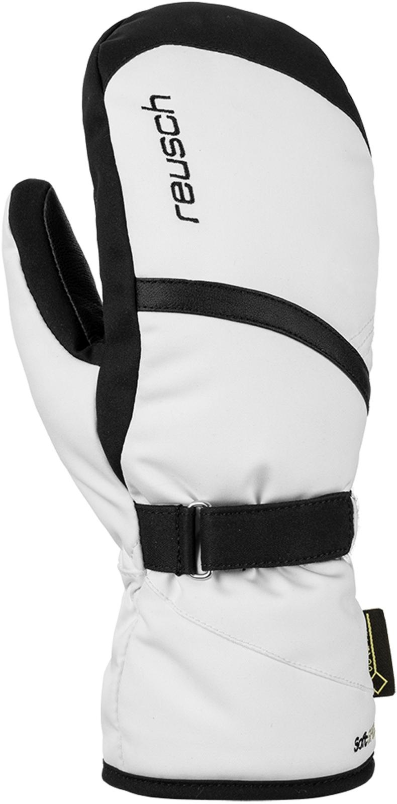 8c337ed7288 Dámské lyžařské palčáky Reusch Alexa GTX Mitten - white black - Ski ...