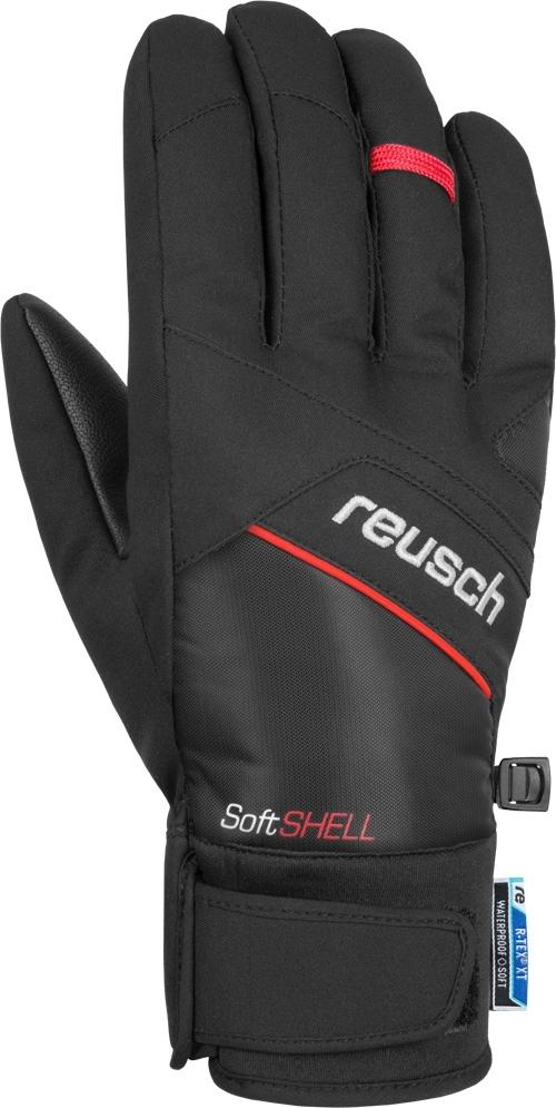 Reusch Luke R-TEX® XT - black/fire red 9