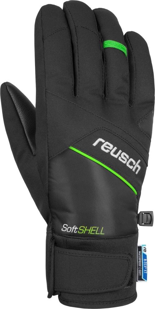 Reusch Luke R-TEX® XT - black/neon green 9,5