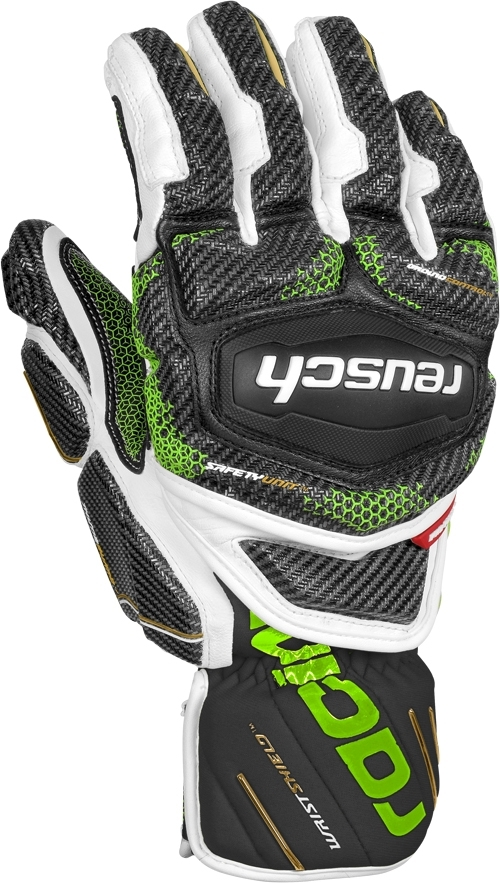 Reusch Race Tec 18 GS - black white neon green 10 5283a65041