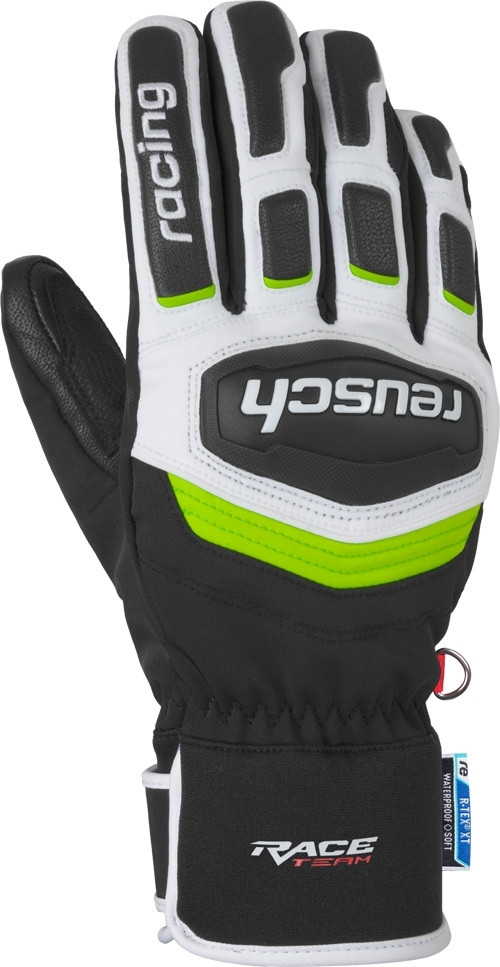 Reusch Race Training R-TEX XT - black white neon green 10 6760aed65b
