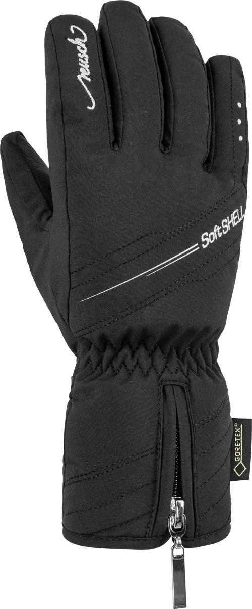 Dámské lyžařské rukavice Reusch Selina GTX - black silver - Ski a ... c6aef0506a
