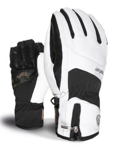 Dámské lyžařské rukavice Level Type W - black white - Ski a Bike ... 551ca0e410