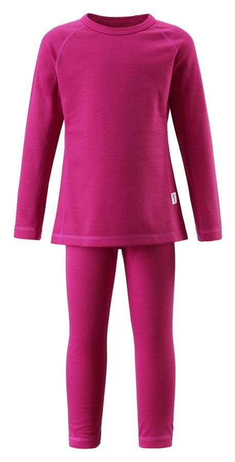 Dětské funkční prádlo Reima Lani - Pink 160