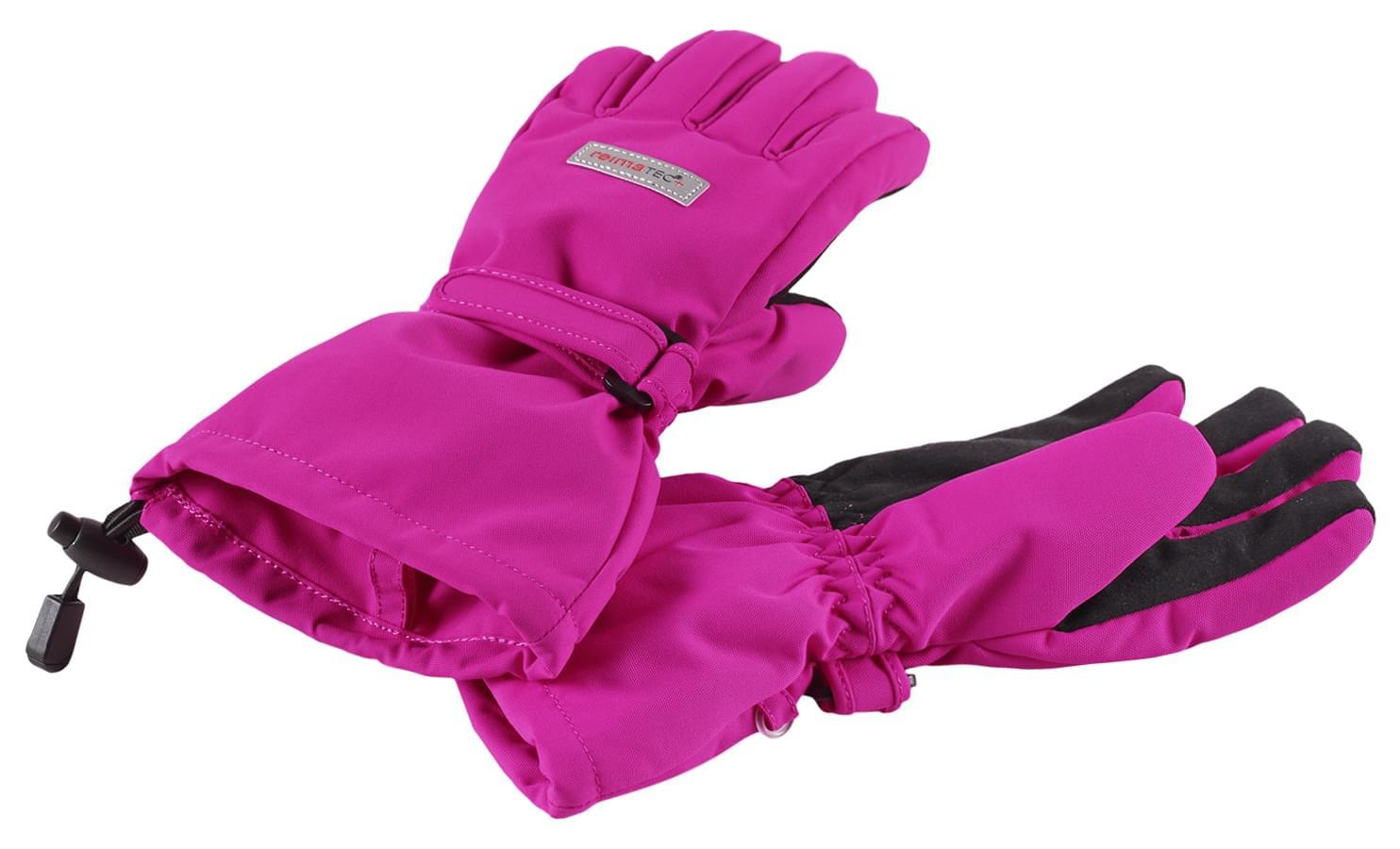 Dětské membránové rukavice Reima Kiito - Pink - Ski a Bike Centrum ... fed8abb890