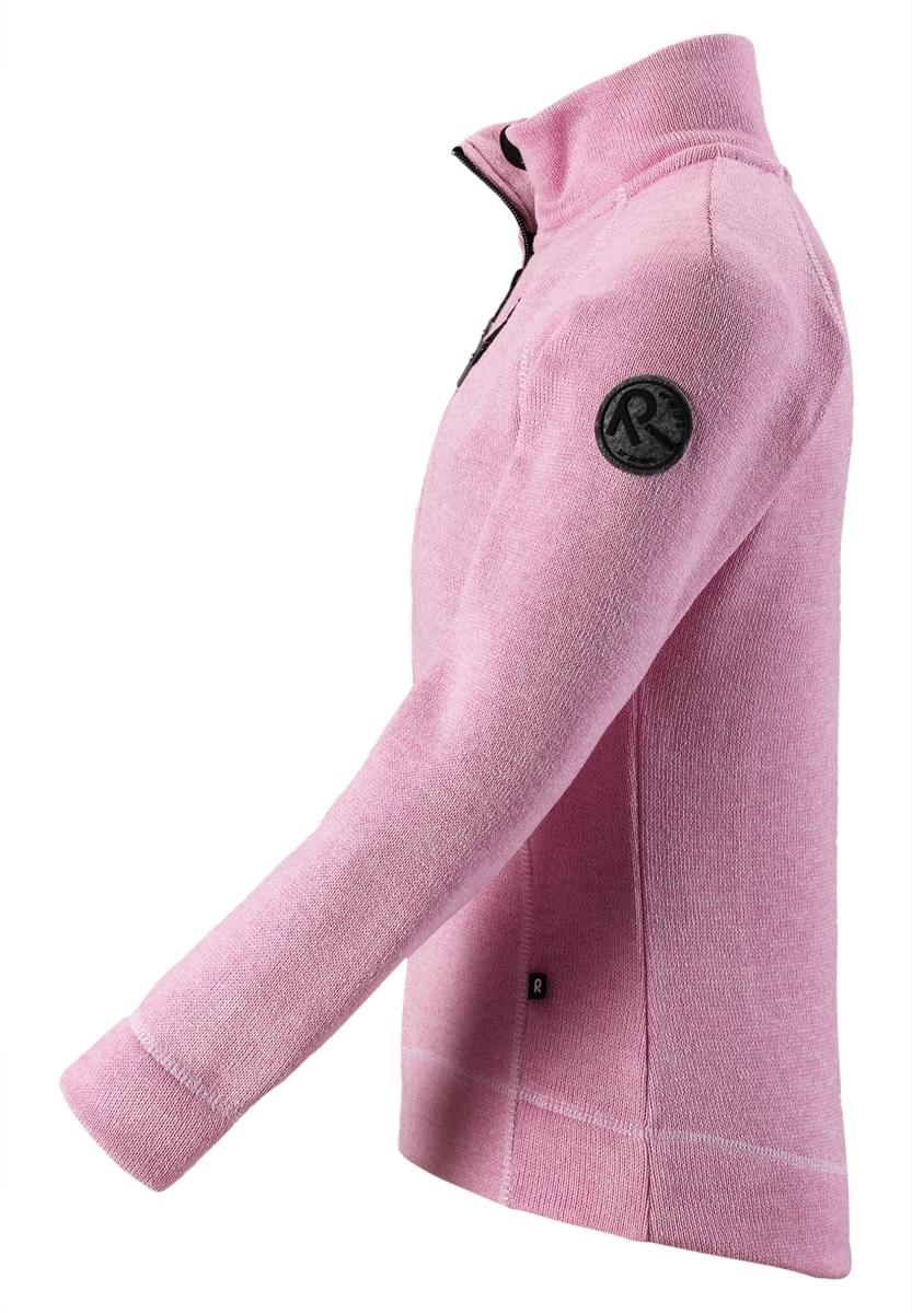 Dětská fleecová mikina Reima Liina - Candy pink - Ski a Bike Centrum ... 26803106f0a