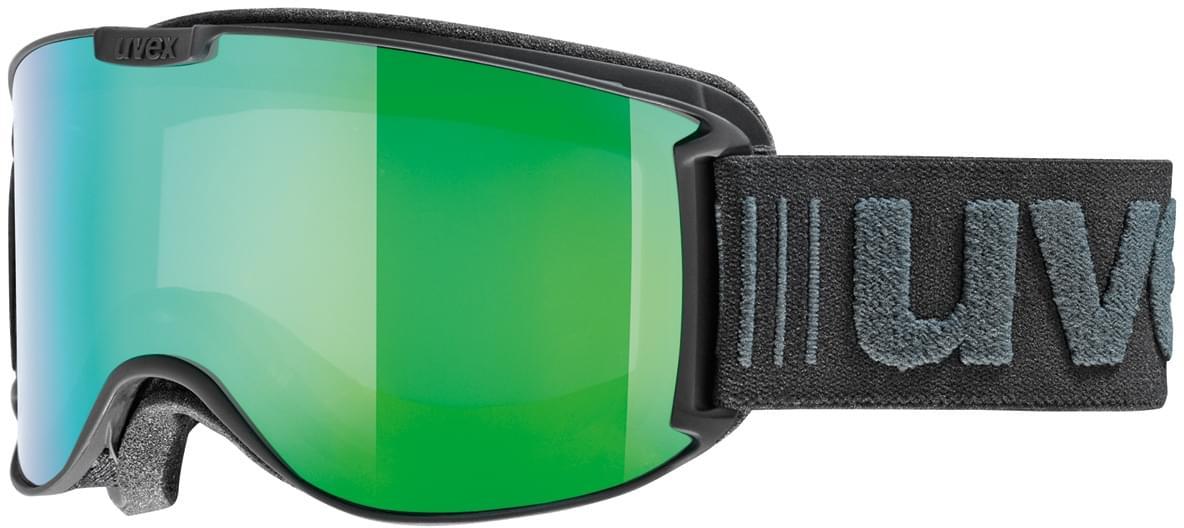 Uvex skyper LM - black mat (green) uni