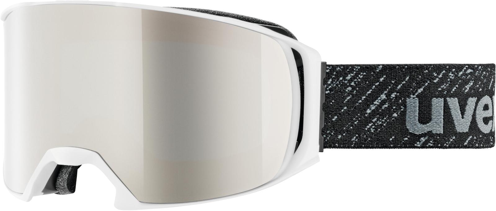 Uvex Craxx. FM OTG White Mat DL/mirror silver lasergold lite (S3) uni