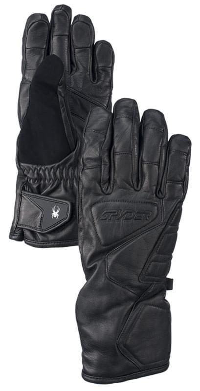 Lyžařské rukavice Spyder Rage Ski - black - Ski a Bike Centrum Radotín 90f9c92fe2