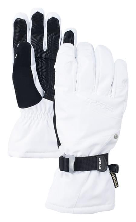 Dámské lyžařské rukavice Spyder Collection Ski - white - Ski a Bike ... 6efa32ab9e