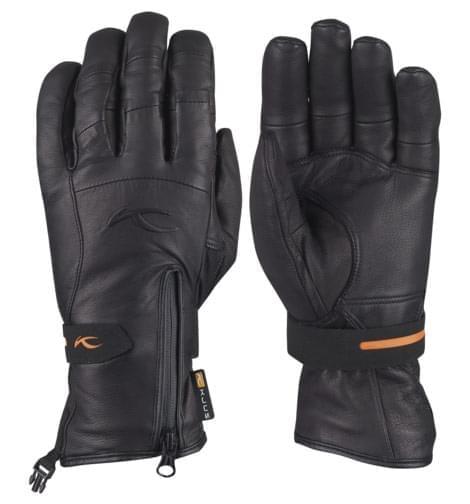 Lyžařské rukavice Kjus Men Stealth II Leather - black - Ski a Bike ... 24be76dd58