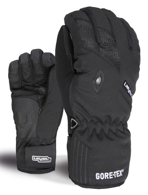 Dámské lyžařské rukavice Level Matrix Gore - black - Ski a Bike ... 1a3b5ac019