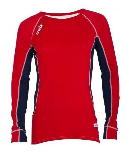 Triko s dlouhým rukávem Swix Race-X - red - Ski a Bike Centrum Radotín 915f90436e