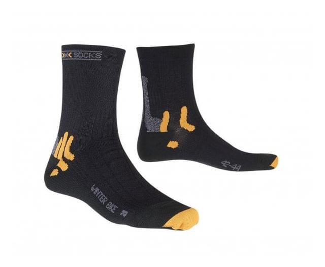 af38e8e4e22 Zimní ponožky X-Socks Winter Biking - black 39 41