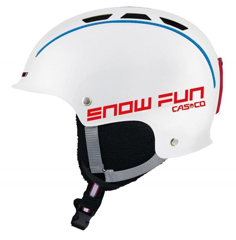 Dětská lyžařská helma Casco Snow Fun - white S