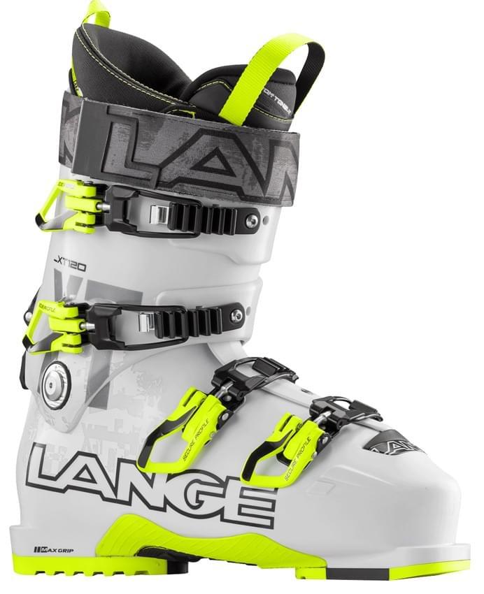 Lyžařské boty Lange XT 120 – white/yellow 285