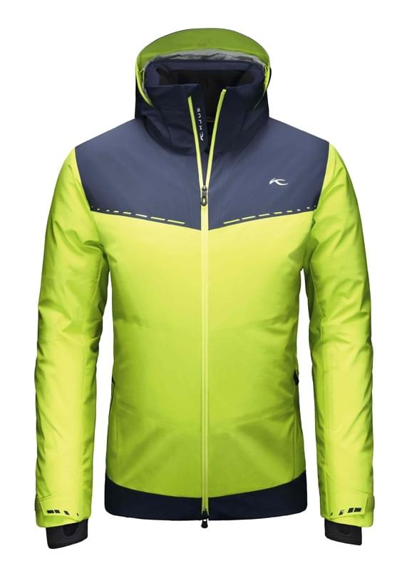 Pánská lyžařská bunda Kjus Light Speed Jacket - wasabi atlanta black ... a330875f45