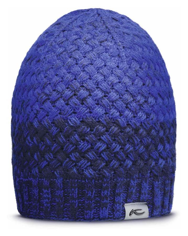 Lyžařská čepice Kjus Line Beanie - blue uni